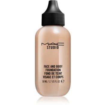 MAC Cosmetics Studio make-up cu textura usoara pentru fata si corp