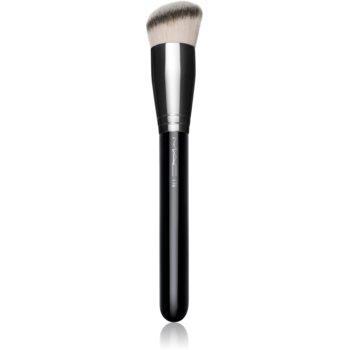 MAC Cosmetics 170 Synthetic Rounded Slant Brush perie kabuki teșită poza noua