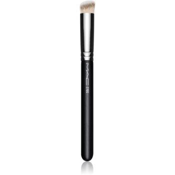 MAC Cosmetics 270 Synthetic Mini Rounded Slant Brush perie kabuki anticearcãne imagine produs