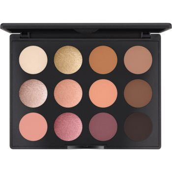MAC Cosmetics Art Library: Nude Model paleta farduri de ochi