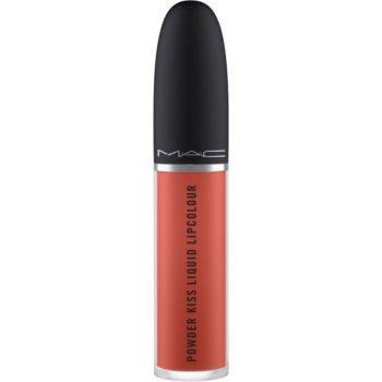 MAC Powder Kiss Liquid Lipcolour ruj lichid mat imagine