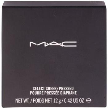 MAC Select Sheer/Pressed fiksacijski puder 3