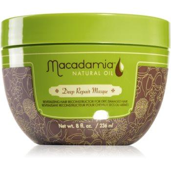 Macadamia Natural Oil Deep Repair masca profund reparatorie pentru pãr uscat ?i deteriorat imagine produs