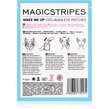 MAGICSTRIPES Wake Me Up Masca de colagen pentru ochi semne de oboseala