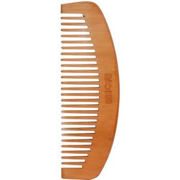 Magnum Natural pieptene din lemn de par cu maner de  DS-003 15 cm