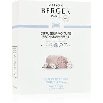 Maison Berger Paris Car Cotton Caress parfum pentru masina Refil