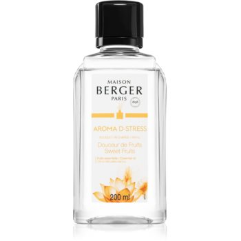 Maison Berger Paris Aroma D-Stress reumplere în aroma difuzoarelor Sweet Fruits