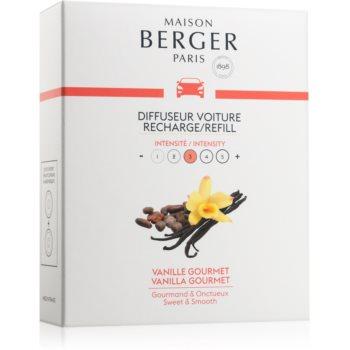 Maison Berger Paris Car Vanilla Gourmet parfum pentru masina 2 x 17 g Refil