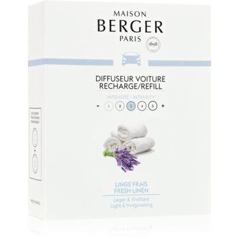 Maison Berger Paris Car Fresh Linen parfum pentru masina Refil