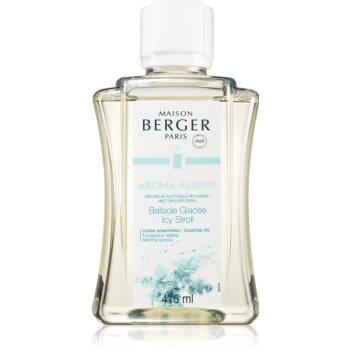 Maison Berger Paris Mist Diffuser Aroma Respire rezervă pentru difuzorul electric (Icy Stroll)