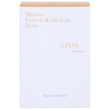 Maison Francis Kurkdjian APOM pour Homme Eau de Toilette für Herren  Ersatzfüllung 2