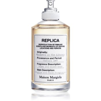Maison Margiela REPLICA Whispers in the Library Eau de Toilette unisex