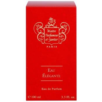 Maitre Parfumeur et Gantier Eau Élégante Eau De Parfum pentru femei 4