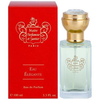 Maitre Parfumeur et Gantier Eau Élégante Eau de Parfum für Damen