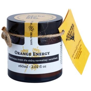 Make Me BIO Face Care Orange Energy crema hidratanta pentru ten normal către piele sensibilă