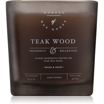 Makers of Wax Goods Teak Wood duftkerze 464,93 g