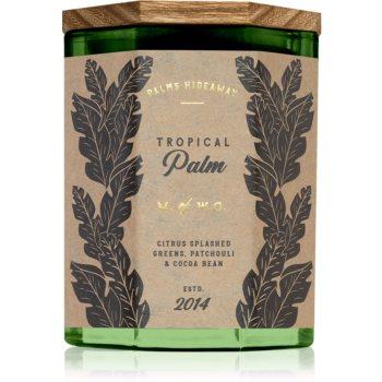Makers of Wax Goods Palms Hideaway Tropical Palm lumânare parfumată