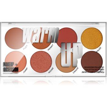 Makeup Obsession Warm Up paletã cu farduri de ochi imagine produs