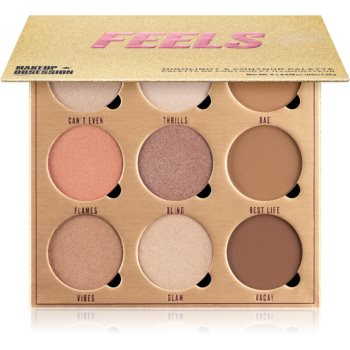 Makeup Obsession Feels paletã pentru contur ?i iluminare imagine produs
