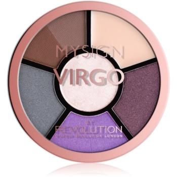 Makeup Revolution My Sign paletă pentru ochi culoare Virgo 4,6 g