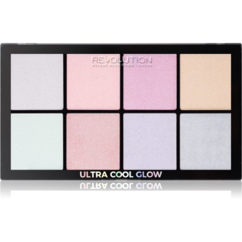 Makeup Revolution Ultra Cool Glow paleta luminoasa imagine produs