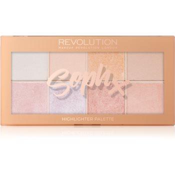 Makeup Revolution Soph X paleta luminoasa imagine produs