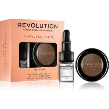 Makeup Revolution Flawless Foils farduri de ochi metalice, cu bază de machiaj