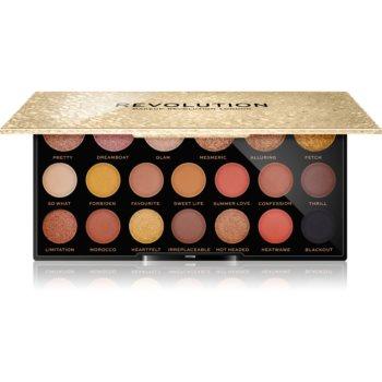 Makeup Revolution Jewel Collection paletă cu farduri de ochi