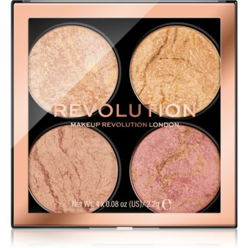 Makeup Revolution Cheek Kit paletã de farduri pentru obraji imagine produs