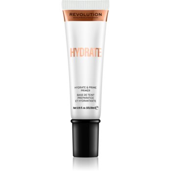 Makeup Revolution Hydrate baza hidratantă de machiaj poza noua