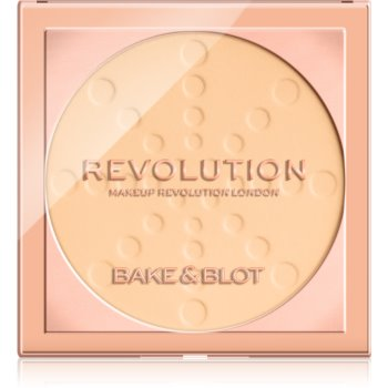 Makeup Revolution Bake & Blot pudra de fixare imagine produs