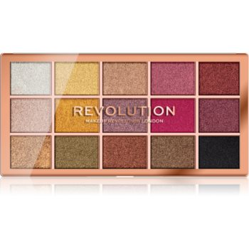 Makeup Revolution Foil Frenzy paleta fard de ochi metalic poza noua