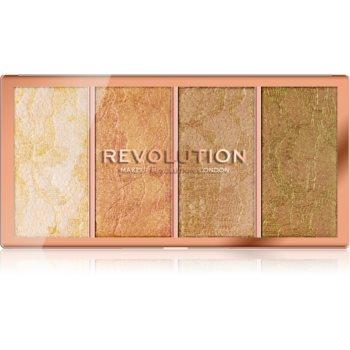 Makeup Revolution Vintage Lace paletã de iluminatoare imagine produs