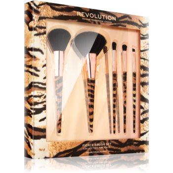 Makeup Revolution Fierce Brush Set set perii machiaj pentru femei