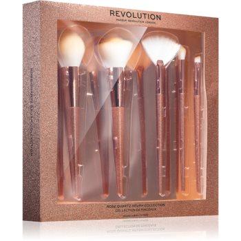 Makeup Revolution Precious Stone Rose Quartz set perii machiaj (facial)
