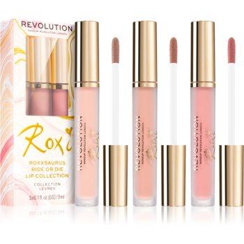 Makeup Revolution X Roxxsaurus set îngrijire buze Ride or Die culoare poza noua