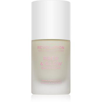 Makeup Revolution Prep & Glow lac intaritor de baza pentru unghii poza noua