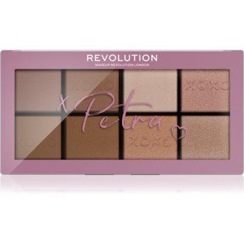 Makeup Revolution X Petra XOXO paletã de farduri pentru obraji imagine produs