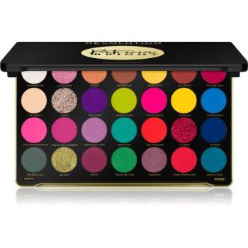 Makeup Revolution X Patricia Bright paleta farduri de ochi poza noua