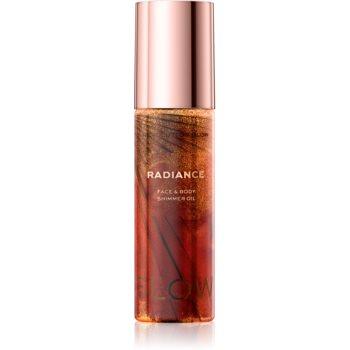 Makeup Revolution Glow Shimmer ulei pentru stralucire pentru fata si corp imagine produs