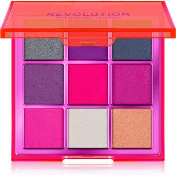 Makeup Revolution Viva Neon paletă cu farduri de ochi poza noua