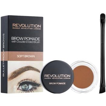 Makeup Revolution Brow Pomade Spancene Pomada poza
