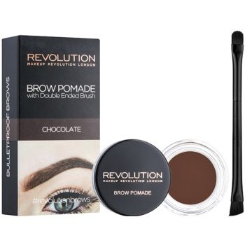 Makeup Revolution Brow Pomade Spancene Pomada culoare Chocolate 2,5 g