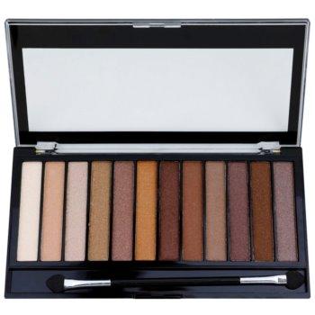Makeup Revolution Essential Shimmers палетка тіней 1