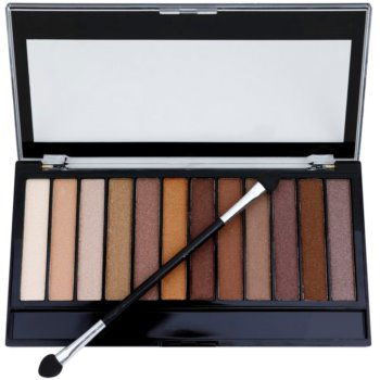 Makeup Revolution Essential Shimmers палетка тіней 2