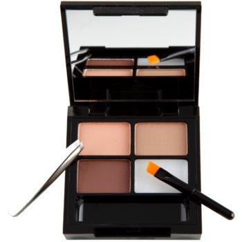 Makeup Revolution Focus & Fix zestaw do doskonałego brwi 1