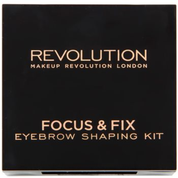 Makeup Revolution Focus & Fix zestaw do doskonałego brwi 2