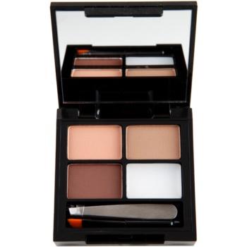Makeup Revolution Focus & Fix zestaw do doskonałego brwi
