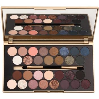 Makeup Revolution Fortune Favours the Brave paleta farduri de ochi cu oglindă si aplicator