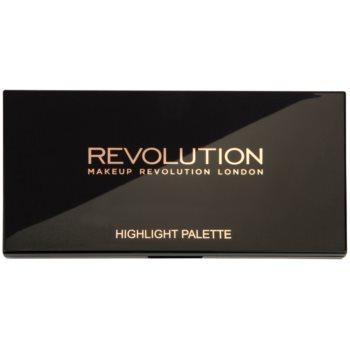 Makeup Revolution Highlight paleta de farduri iluminatoare 1